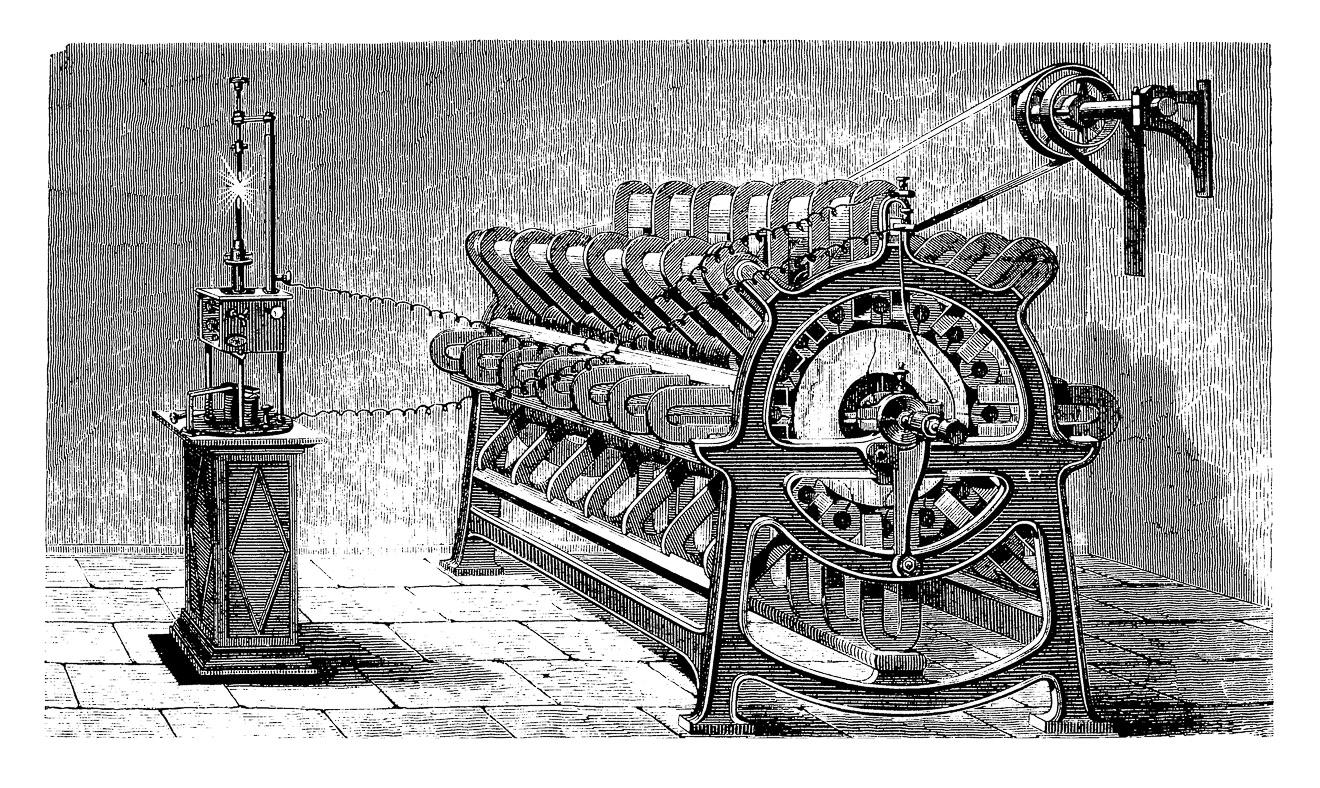 Der Traum der endlosen Energie mit einem Magnetmotor